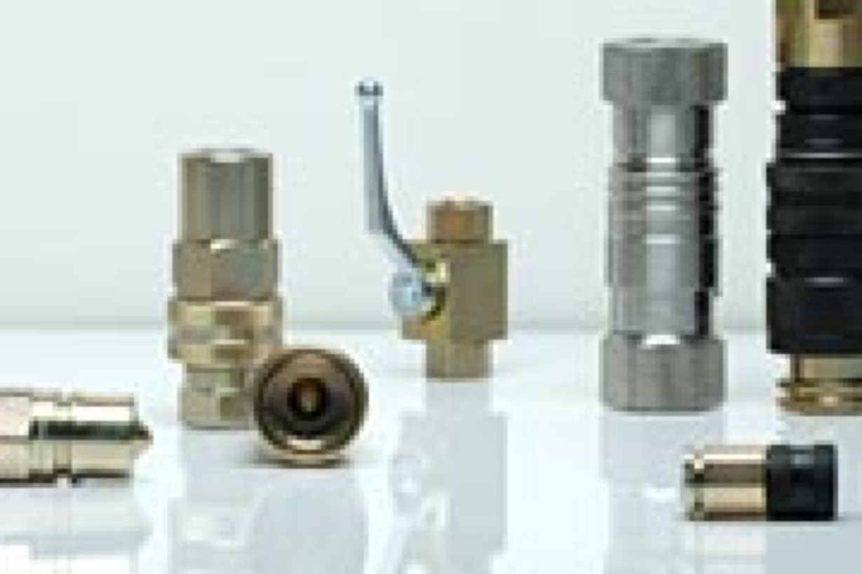 Shut-off devices, quick acting couplings