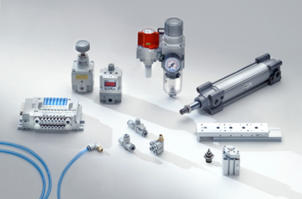 SMC - Pneumatics and process technology