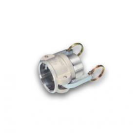 06454174 KAMLOK® Kupplung Mutterteil Typ 633-B, mit Aussengewinde, Aluminium