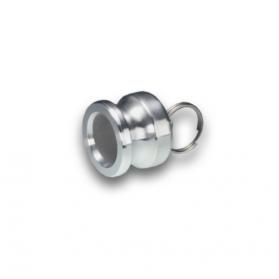 06454176 KAMLOK® Blindstutzen Kupplung Vaterteil Typ 634-A, Aluminium
