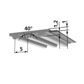 09184102 BRECO® Zahnriemen Meterware T5-PAZ-PAR
