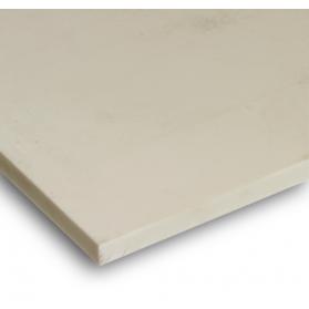 01111020 PTFE 125 Platte beige (25% Glasfasern)