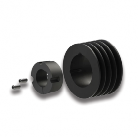 09121140 V-belt pulley A/SPA with TAPER-LOCK bushing