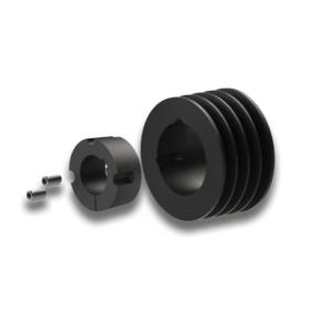09121370 V-belt pulley C/SPC with TAPER-LOCK bushing