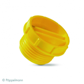 13011213 KAPSTO® Screw stopper in inches GPN 700, yellow