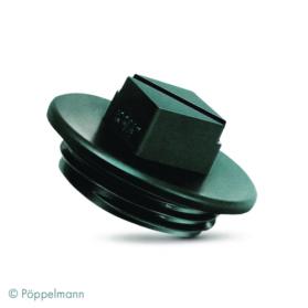 13011414 KAPSTO® Screw plug GPN 710, black