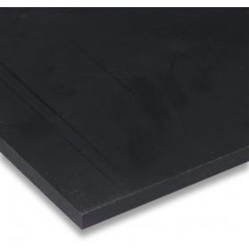 01221011 PE-HD plate black, 40 - 50 mm