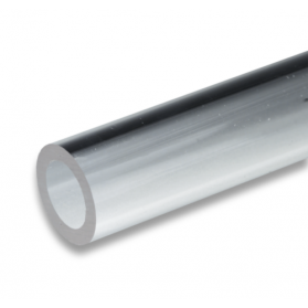 01242051 Tube PMMA -XT transparent clair, 7 - 40 mm