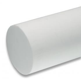 01101517 PTFE Rundstab natur (weiss), 65 - 210 mm