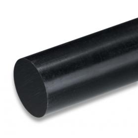 01193525 POM-C polished h9 round bar black
