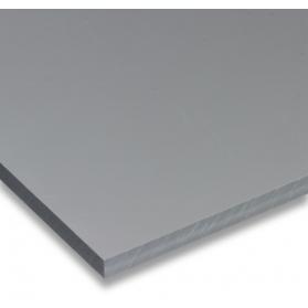 01211010 Plaque PVC-U gris, 1 mm
