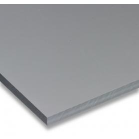 01211012 Plaque PVC-U gris, 6 - 12 mm