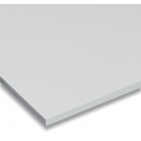 01211016 Plaque PVC-U FO expansé blanc