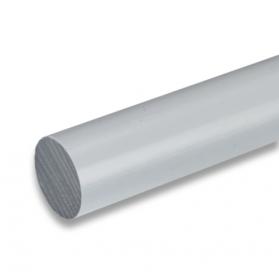 01211515 PVC-U round bar grey, 6 - 40 mm