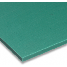 01221019 PE-UHMW regenerated plate green