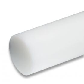 01221515 PE-UHMW round bar natural (white)
