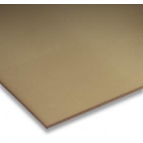 01251012 PUR D15 Platte braun, 90 ±5 Shore A, 0.5 - 20 mm