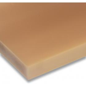 01251013 PUR D15 Platte braun, 90 ±5 Shore A, 25 - 50 mm