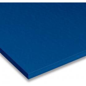 02320071 Plaque POM-C bleu