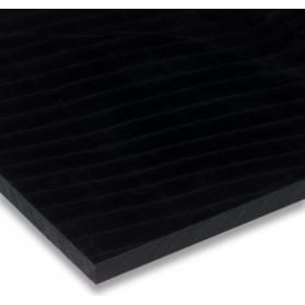 02321011 Plaque POM-C noir, 2 mm