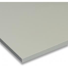 01231012 PP plate pebble grey, 60 - 80 mm