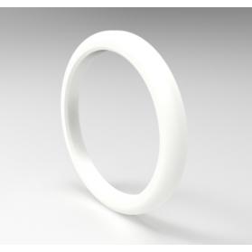 06502613 Bague d'étanchéité pour raccord de tuyau à lait, PTFE, blanc, DIN 11851