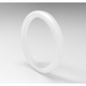 11614020 Bague d'étanchéité pour raccord de tuyau à lait, VMQ, transparent, DIN 11851