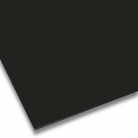 10109962 Elastomerplatte CR 65 Shore A schwarz
