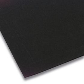 10109933 Plaque caoutchouc cellulaire CR 0,18 g/cm³ noir
