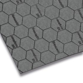 10109946 NOVAFORM SK Dichtungsplatte mit Stahldrahteinlage dunkelgrau