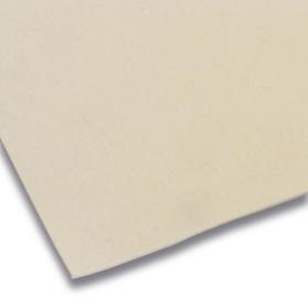10109955 Plaque de feutre de laine 0,25 g/cm³ blanc