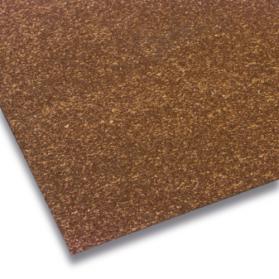 10109957 GUKO Plaque caoutchouc-liège brun-noir