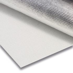 10144304 Glasgewebe einseitig mit Aluminium-Kaschierung
