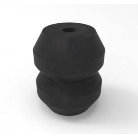 12210204 APSOvib® Gummihohlfeder Typ EE