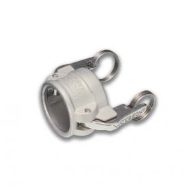 06454153 AUTOLOK™ Verschlussdeckel Kupplung Mutterteil Typ 733-DCL, Edelstahl