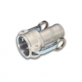 06454175 KAMLOK® Kupplung Mutterteil Typ 633-C, für Schlauch, Aluminium