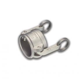 06454187 KAMLOK® Verschlussdeckel Kupplung Mutterteil Typ 634-B, Edelstahl