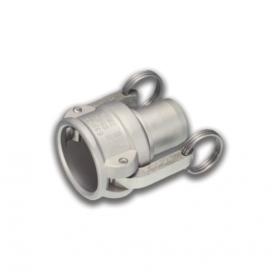 06454189 KAMLOK® Kupplung Mutterteil Typ 633-CC, für Schlauch, Edelstahl