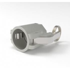 06454173 KAMLOK® Kupplung Mutterteil Typ 633-D, mit Innengewinde, Aluminium