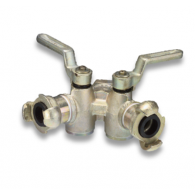 06500515 Double faucet with torque coupling
